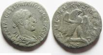 Ancient Coins - SYRIA, Seleucis and Pieria. Antioch. Trebonianus Gallus. AD 251-253 . Billon Tetradrachm