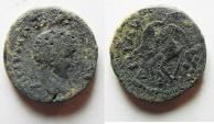 Ancient Coins - DECAPOLIS. ADRAA. ELAGABALUS AE 16