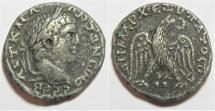 Ancient Coins - Akko-Ptolemais, Caracalla AR Tetradrachm,  215 - 217 C.E.