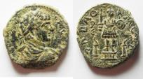 Ancient Coins - CHOICE COIN. UNTOUCHED: ARABIA. RABBATH-MOBA . GETA AE 27