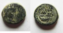 Ancient Coins - Judaea, Ascalon. Time of Trajan, 98-117 AD. AE 15