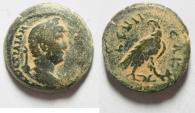Ancient Coins - EGYPT.ALEXANDRIA.Hadrian AD 117-138.AE.Diobol