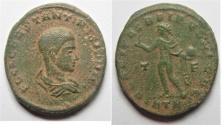 Ancient Coins - CONSTANTINE II AE FOLLIS. RARE