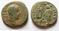 Ancient Coins - Phoenicia. Tyre under  Valerian I (AD 253-260). AE 27mm, 12.28g.