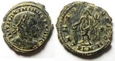 Ancient Coins - Maximinus II AE Follis. 310-312 AD , LONDON MINT