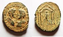 Ancient Coins - JUDAEA, Aelia Capitolina (Jerusalem). Marcus Aurelius & Lucius Verus. AD 161-169. Æ 30