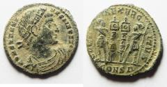 Ancient Coins - CONSTANTINE I AE 3 . CONSTANTINOPLE MINT