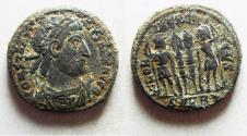 Ancient Coins - CONSTANTINE I AE 3 . ORIGINAL DESERT PATINA.