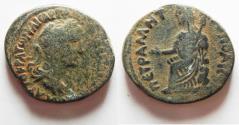 Ancient Coins - ARABIA. PETRA , HADRIAN AE 28
