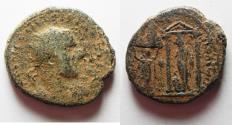 Ancient Coins - Samaria. Neapolis under Trebonianus Gallus (AD 251–253). AE 24mm, 12.93g.