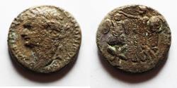 Ancient Coins - JUDAEA CAPTA. UNDER DOMITIAN AE 23