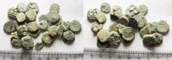 Ancient Coins - AS FOUND: LOT OF 30 ANCIENT JUDAEAN PRUTOT COINS
