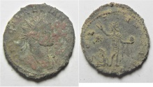 Ancient Coins - CHOICE MINT STATE SILVERED ANTONINIANUS OF AURELIUS. AS FOUND