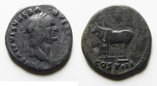 Ancient Coins - VESPASIAN SILVER DENARIUS