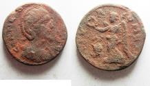 Ancient Coins - PHOENICIA, Tyre. Salonina. Augusta, AD 254-268. Æ Dichalkon