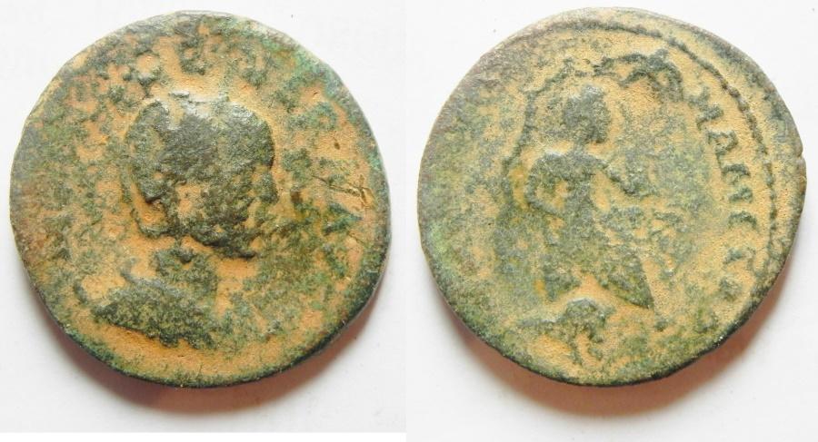 Ancient Coins - Syria. Coele Syria. Damascus under Otacilia Severa (AD 244-249). AE 29mm