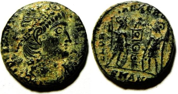 Ancient Coins - ROMAN AE 3