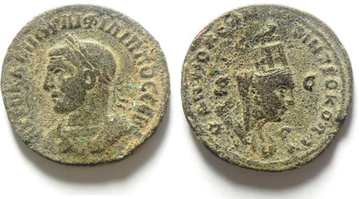 Ancient Coins - SYRIA, Seleucis and Pieria. Antioch, PHILIP I, 244-249 AD, AE 29