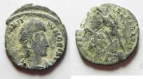 Ancient Coins - CONSTANTIUS GALLUS AE 3 . AS FOUND