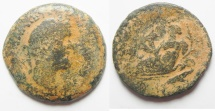 Ancient Coins - EGYPT. ALEXANDRIA. ANTONINUS PIUS AE DRACHM.