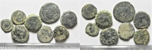 LOT OF 8 MIXED ANCIENT COINS