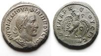 Ancient Coins - Syria , Seleucis and Pieria. Antioch. PHILIP I SILVER Tetradrachm. CHOICE QUALITY!!!