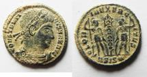 Ancient Coins - CONSTANTINE I AE 4. NICE DESERT PATINA