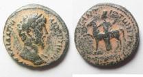 Ancient Coins - Arabia. Hippum . Lucius Verus AE 24