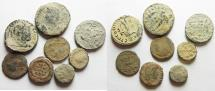 Ancient Coins - LOT OF 8 ROMAN AE COINS
