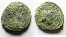 Ancient Coins - CHOICE AS FOUND: Judaea, Aelia Capitolina (Jerusalem). UNDER COMMODUS. AE 26