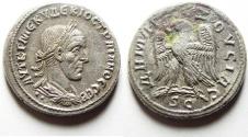 Ancient Coins - SYRIA, Antioch. Trajan Decius, 249-251 AD. AR Tetradrachm