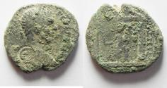 Ancient Coins - ARABIA. PETRA. GETA AE 28 . AS FOUND
