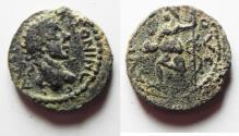 Ancient Coins - DECAPOLIS. ARABIA. ESBUS . ELAGABALUS AE 18