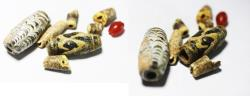 Ancient Coins - ANCIENT ROMAN GLASS & OTHER BEADS, 100 - 300 A.D