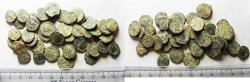 Ancient Coins - LOT OF 43 ANCIENT BRONZE ROMAN COINS