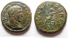 Ancient Coins - NICE : Philip I, A.D. 244-249, Æ Sestertius