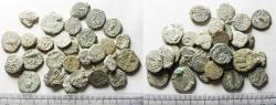 Ancient Coins - LOT OF 30 ANCIENT BRONZE JUDAEAN COINS