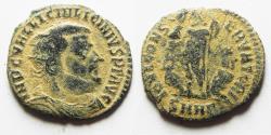 Ancient Coins - BEAUTIFUL AS FOUND LICINIUS I AE FOLLIS