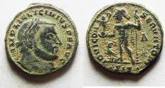 Ancient Coins - ORIGINAL DESERT PATINA. LICINIUS I AE FOLLIS. SISCIA MINT