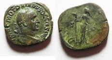 Ancient Coins - Trajan Decius 249-251AD AE Sestertius