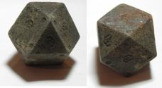 Ancient Coins - ANCIENT ISLAMIC, MAMLUK IRON WEIGHT OF 1200 - 1300 A.D  5 UNCIA OR 50 DERHIMS.