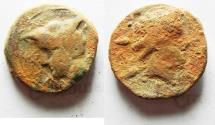 Ancient Coins - GREEK AE FROM SICILY? AE 21