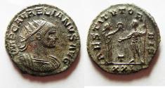 Ancient Coins - AURELIAN SILVERED ANTONINIANUS