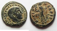 Ancient Coins - Constantine I. AD 307/310-337. Æ Half Follis , Rome mint.