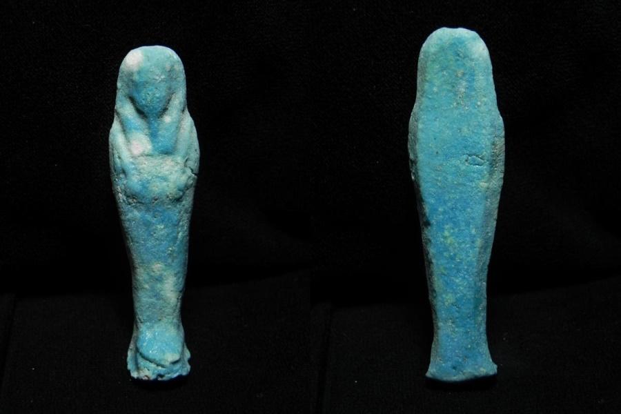Ancient Coins - ANCIENT EGYPT . BEAUTIFUL ANCIENT USHABTI , 600 - 300 B.C
