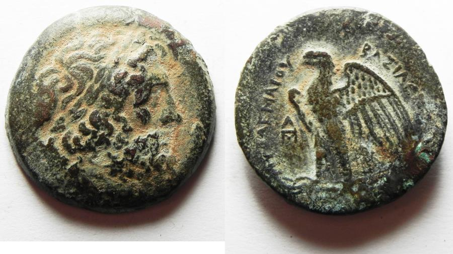 Ancient Coins - PTOLEMAIC KINGDOM. PTOLEMY II AE 28. ALEXANDRIA MINT