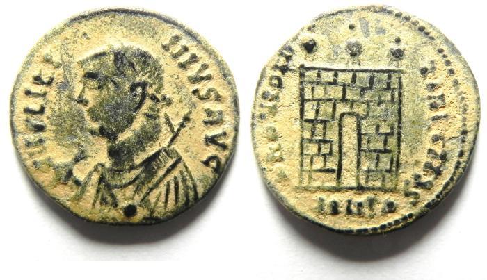 Ancient Coins - BEAUTIFULL HIGH QUALITY LICINIUS I BARBARIC AE 3