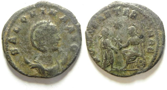Ancient Coins - SALONINA  BILLON ANTONINIANUS , SCARCE!