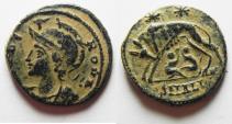 Ancient Coins - BEAUTIFUL AS FOUND CONSTANTINE I COMMEMORATIVE AE 3 . ALEXANDRIA