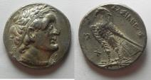 Ancient Coins -  Apparently unpublished: Egypt. Ptolemaic kings. Ptolemaic kings. Ptolemy I Soter (305-282 BC). AR tetradrachm (26mm, 14.07g).